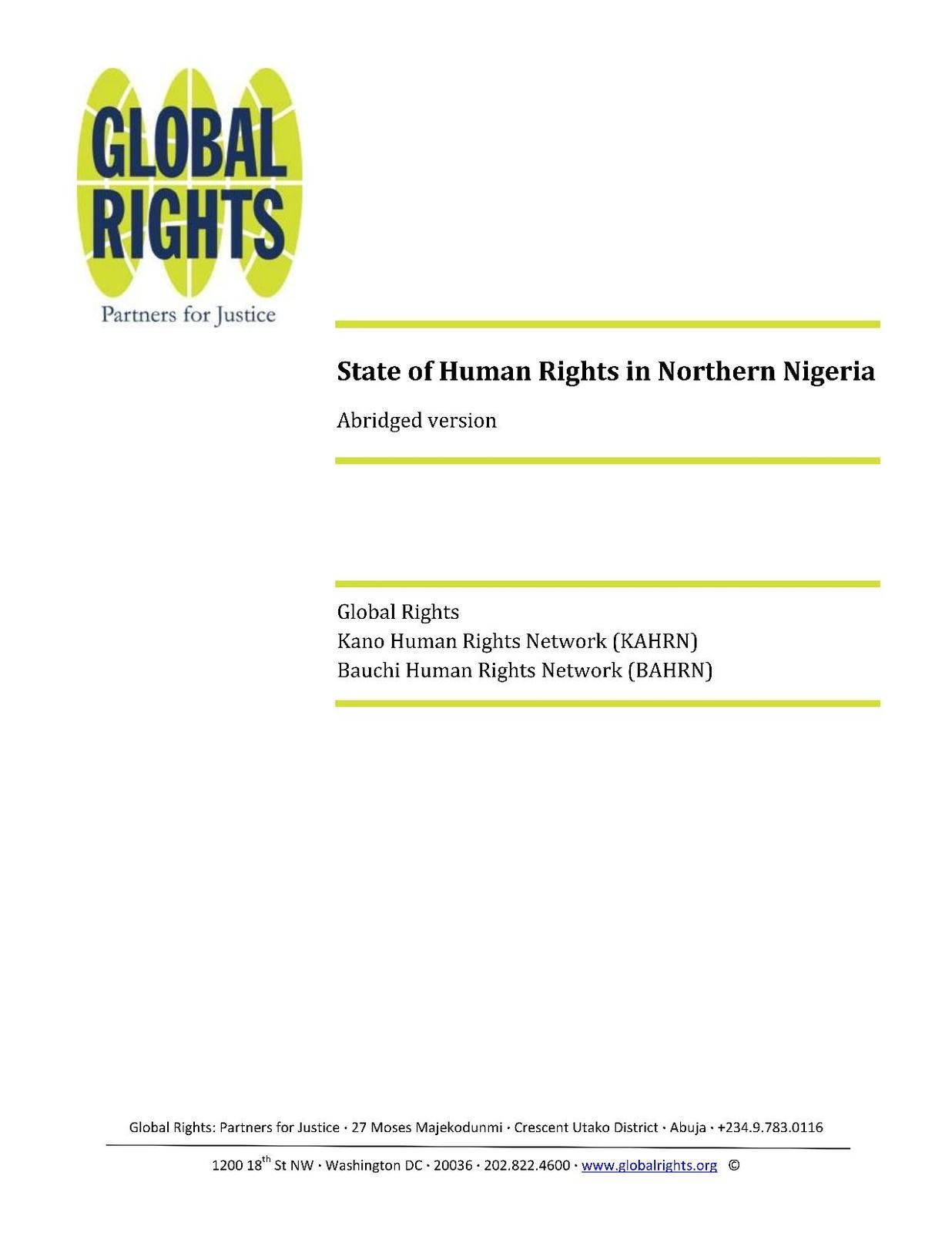 2011_Bauchi_and_Kano_Human_Rights_Report