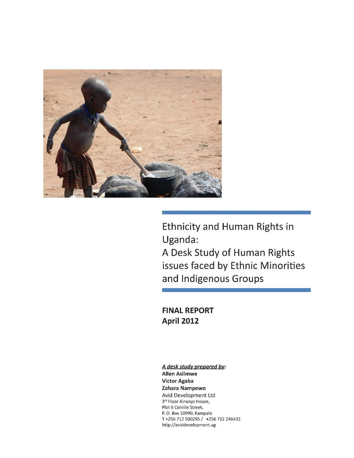 Ethnicity and Human Rights in Uganda