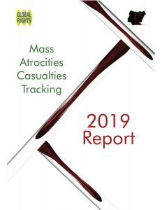 Mass Atrocities Casualties Tracking Report 2019