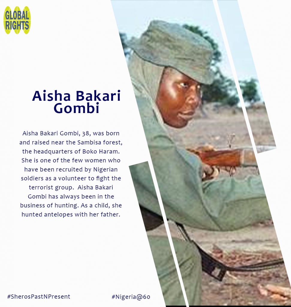 Meet our Sheroes - Aisha Bakari Gombi