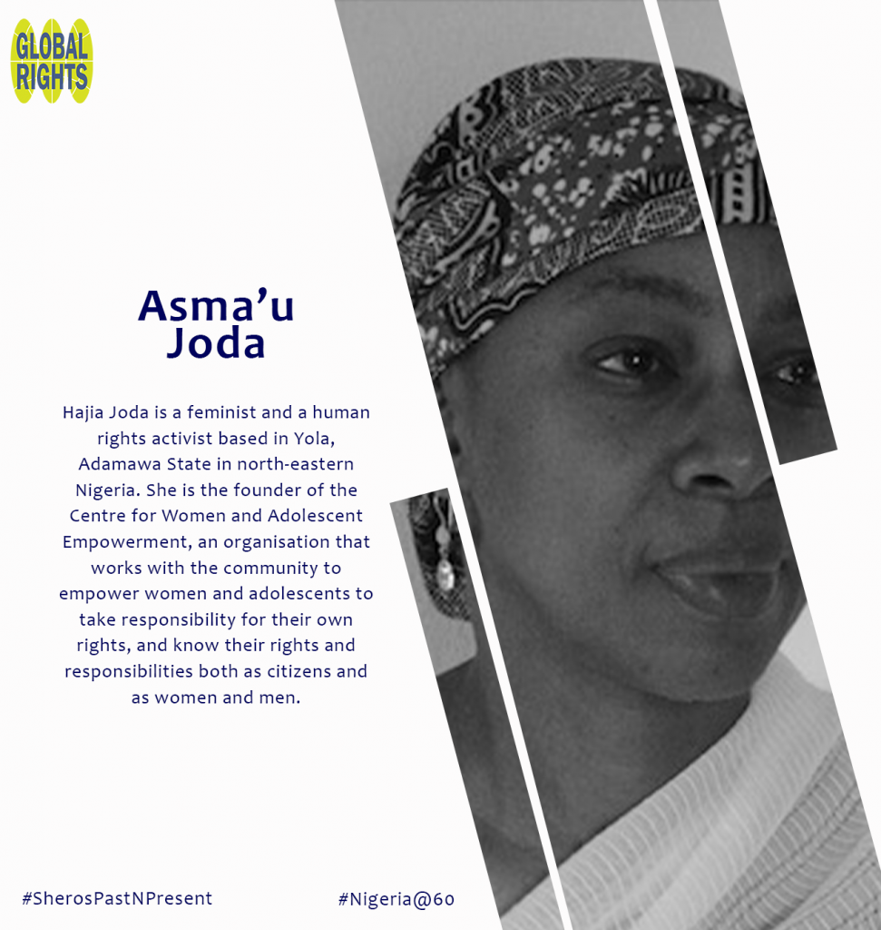 Meet our Sheroes - Hajia Asma'u  Joda
