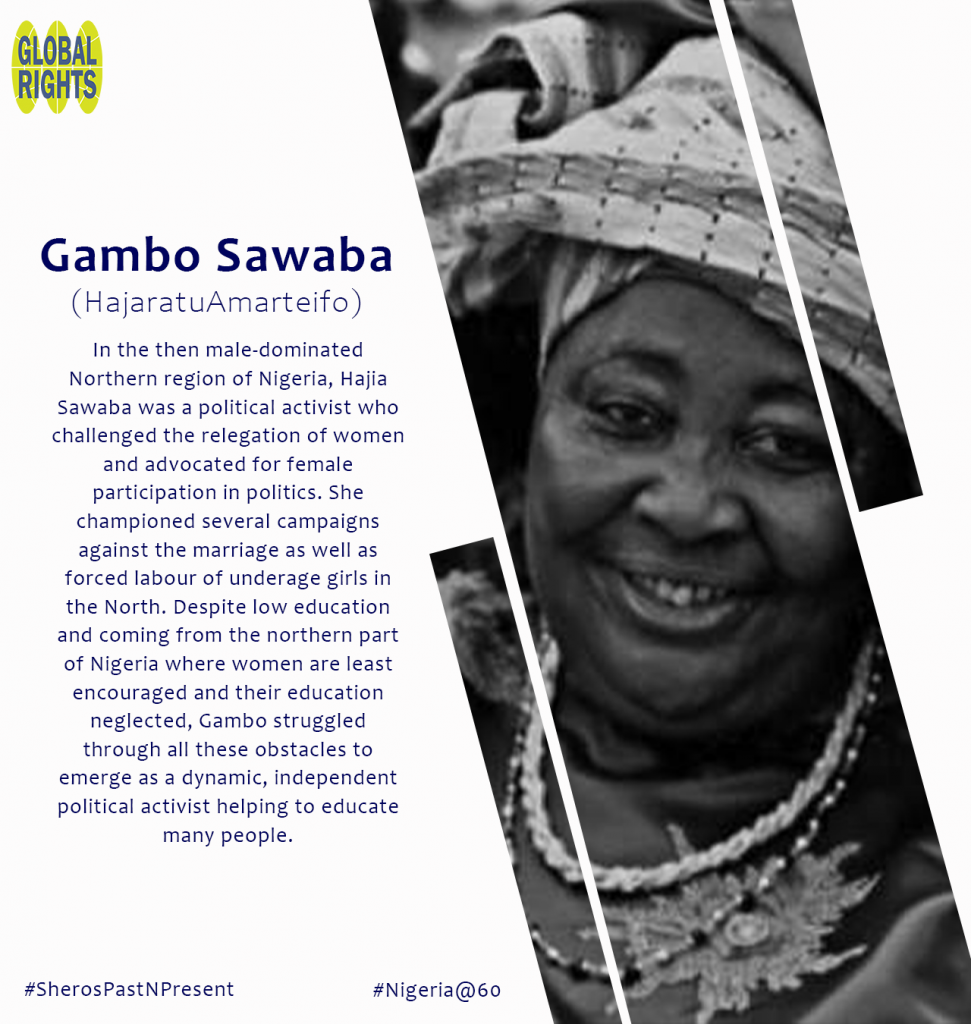 Meet our Sheroes - Gambo Sawaba