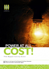 Power At All Cost Report Publication
